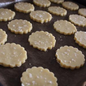 塩クッキーが、美味しい♪