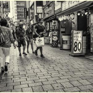 Record of the memory #77 Shinjuku walk