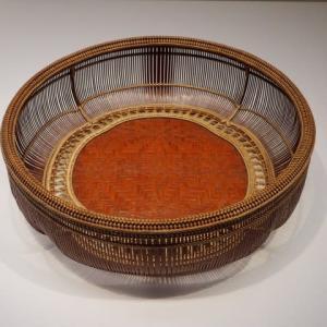 国立近代美術館工芸館で『竹工芸名品展』を観てきた。その2