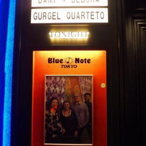 ダニ&デボラ・グルジェル・クアルテート ライブに行った。