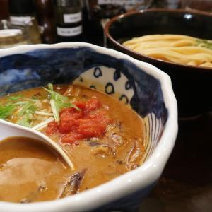 自家製麺 つけ麺 紅葉 (もみじ)@国分寺市<海老とトマトの味噌つけ麺>