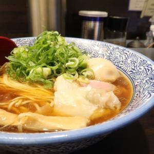 麺屋 かなで@立川市<九条ネギ味玉 鶏の中華そば>