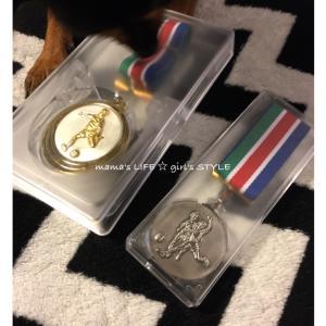 久々♡兄弟メダル!!