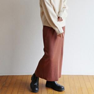 20%OFF♡好みの丈に出来ちゃうリブスカート!!