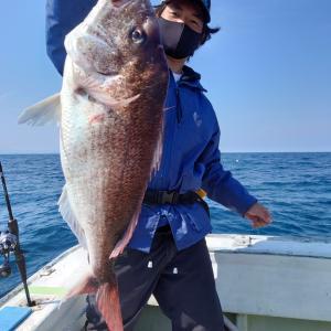 2021/05/23 近海タイラバ&昼イカ&ライトジギング釣果