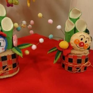東玉大正館の手作り雛飾り