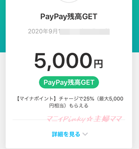 ★近況&マイナポイントGETしました~♪夫婦合わせて1万円分