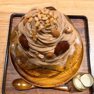 菊乃井のカフェ 無碍山房 Salon de Mugeでかき氷