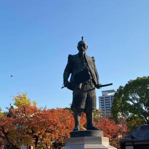 【大阪城豊國神社】出世開運の神様ですって