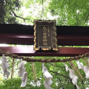 七夕のお茶会やります~氷川女体神社参拝~