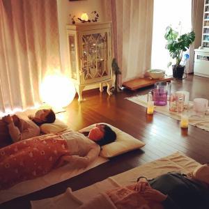 満月のクリスタルボウル瞑想会