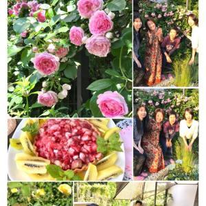 薔薇の花のお茶会*今年は5月15日(土)に決定!