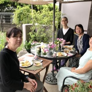 薔薇のお茶会②2021/5/17