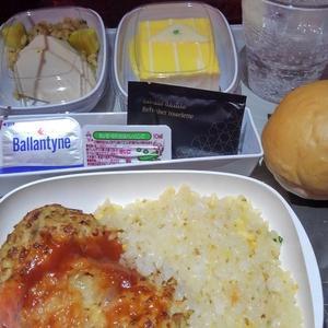 キプロス紀行 ~ エミレーツ航空の機内食( 夕食 )