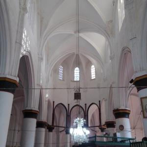 キプロス紀行 ~ 北キプロスのアヤソフィア教会の内部。