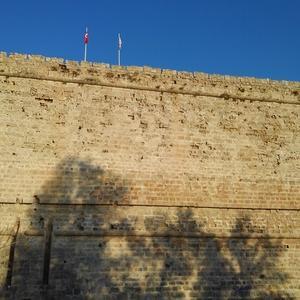 キプロス紀行 ~ キレニア城の入り口。