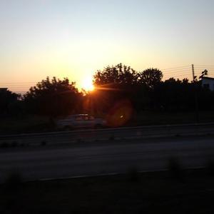 キプロス紀行 ~ キプロスの美しい夕日。