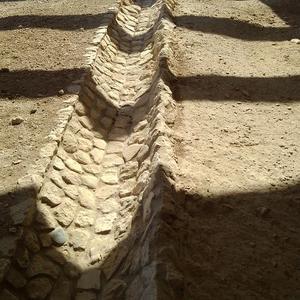 キプロス紀行 ~ クリオン遺跡の高度な排水設備。