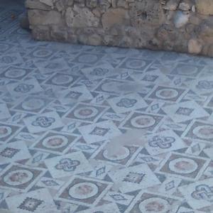キプロス紀行 ~ キリヤキ教会のモザイク。