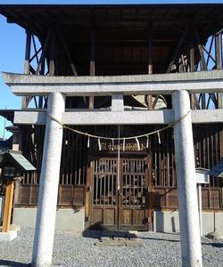 小鹿野ワーケーションツアーリポート ~ 小鹿神社旧本殿。