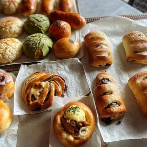 明日の配信レシピと癒されパン