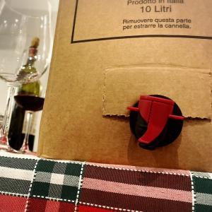 10リットルのワインとボンチのピッツァ