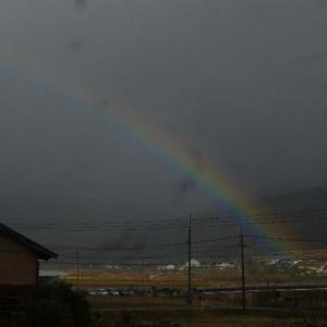 今日は「下見サロン」 虹
