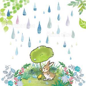 ☆ 雨の色(オリジナルイラスト)