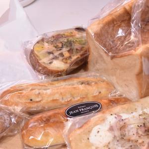 久々のジャンフランソワ♪で朝食パン&ディナーパン @クリエイトレストランツ
