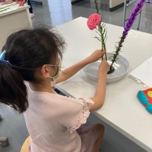 小学生の生け花教室