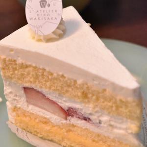 ラトリエヒロワキサカでバースデーケーキ♪