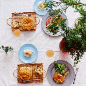 【季節の料理教室 12月】クリスマスチキンメニュー