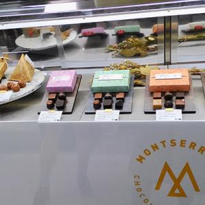 MONTSERRAT モンセラートチョコレートの売り場