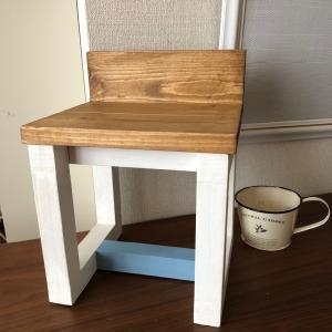 【DIY】小さい椅子をつくってみた。