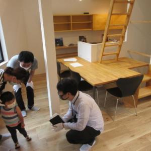 「駒沢公園の変形地にたつ狭小住宅」完成見学会開催しました