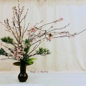 やっぱり、日本人は桜と松~立花で振り返り【いけばな池坊】