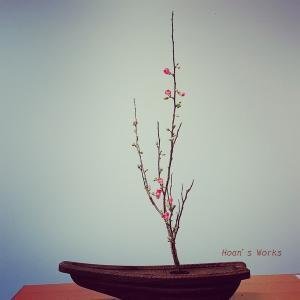 生花七種伝より『泊船』~体験レッスンで日本の伝統を知る【いけばな池坊】