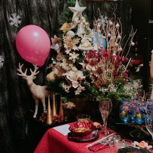 お教室★クリスマスパーティ 飲みすぎ・食べ過ぎ・楽しみ過ぎ【いけばな池坊】