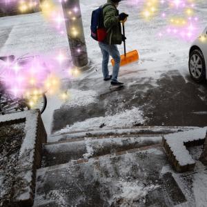 自閉っ子・駿平☆雪かきはすっかり大得意!?
