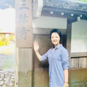 京都一望の青空