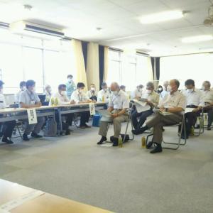 朝陽地区東外環状線建設対策委員会の総会に出席