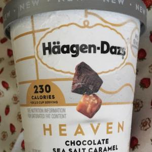 ハーゲンダッツ 新発売ヘルシー 塩キャラメルチョコレート味