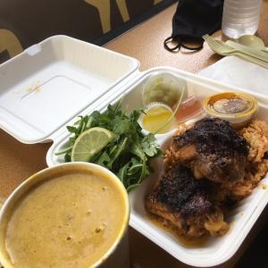 カリブ料理と寒空のスペイン語勉強会