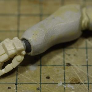 重装甲スネークアイ 手首、膝、足の裏工作