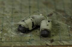 重装甲スネークアイ  脚の工作