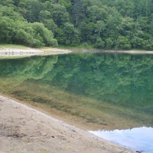 猛暑に日光 刈込湖と湯の湖と湯滝ハイキング