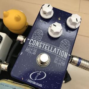 ★ペダル検証 第127段 Crazy Tube Circuits Constellation編