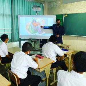 東脊振中学校職業講話