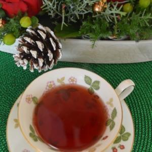 国産有機紅茶と生りんごで作る「クリスマスティー」レシピ