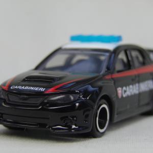 イオン限定 トミカ スバルインプレッサWRX STI イタリア警察仕様
